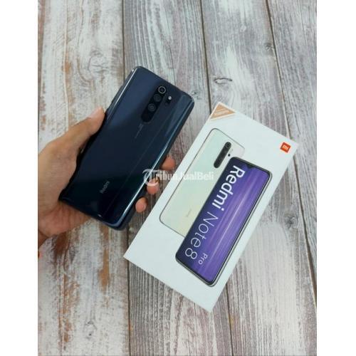 HP Bekas Xiaomi Redmi Note 8 Pro 6/128GB Fullset Nominus Harga Murah - Magelang