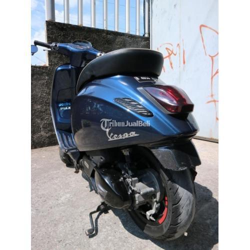 Motor Bekas Vespa Sprint IGET 2017 Sehat Normal Harga Nego - Solo