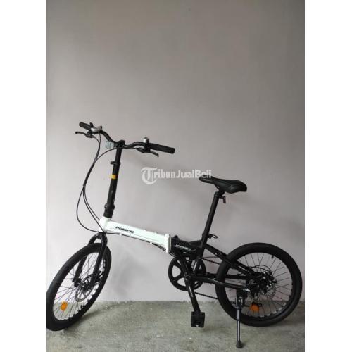 Sepeda Lipat Pacific Splended Baru Warna Hitam Putih Harga Nego - Semarang