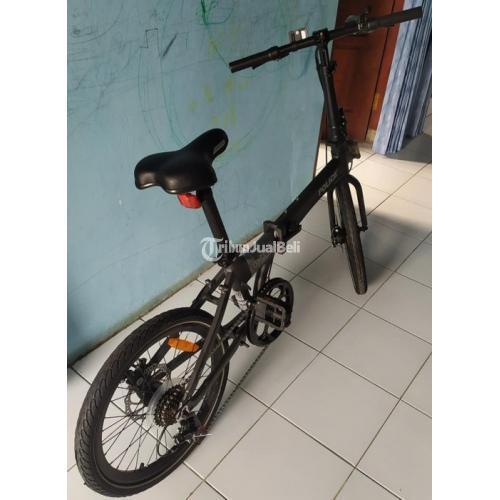 Sepeda Lipat Bekas Element Police Alloy 20inch Harga Nego - Solo