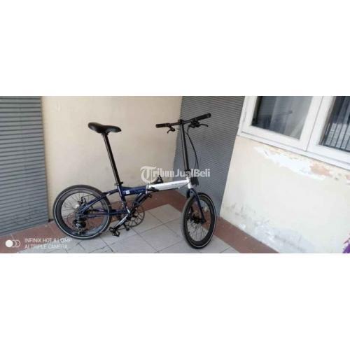 Sepeda Lipat Bekas Element Foldx 8 Upgrade Harga Nego - Sidoarjo