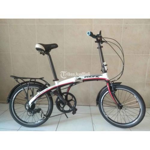 Sepeda Lipat Bekas Pacific Body Alloy Ring 20 Normal Nominus Harga Nego - Badung