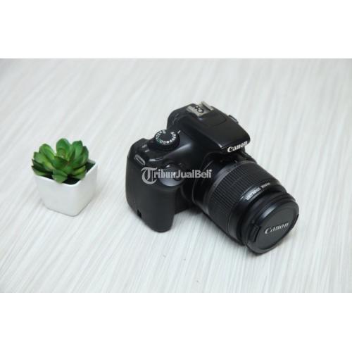 Kamera DSLR Bekas Canon 1100D Normal Lensa Kit Harga Murah - Jogja