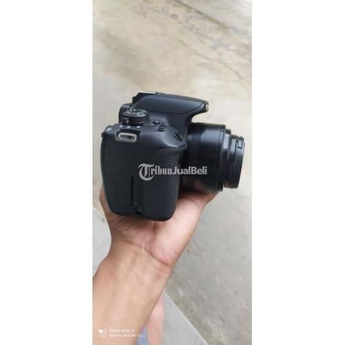 Kamera DSLR Bekas Canon Kiss X7i BO Plus Bonus Fix YN 50mm f1.8 Normal - Grobogan