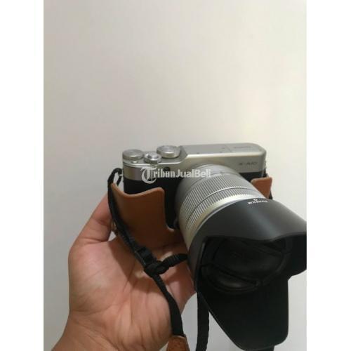 Kamera Mirrorless Bekas Fujifilm X A10 Mulus Lengkap Harga Murah - Denpasar