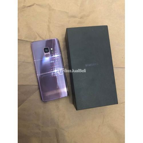 HP Bekas Samsung S9 4/64GB Purple Mulus Fullset Like New Harga Murah - Semarang