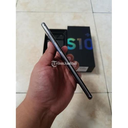 HP Bekas Samsung S10+ Plus SEIN Resmi Fullset Normal Harga Murah - Malang