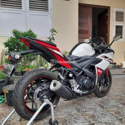 Motor Bekas Kawasaki Yamaha R 25 2016 Like New Pajak On Harga Murah - Solo