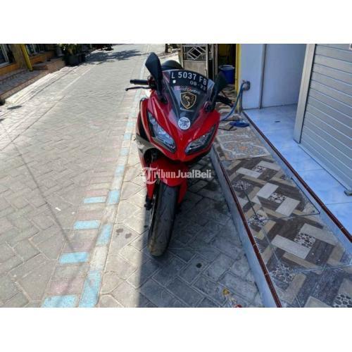 Motor Bekas Kawasaki Ninja 250 Fi 2013 Bagus Harga Nego - Surabaya