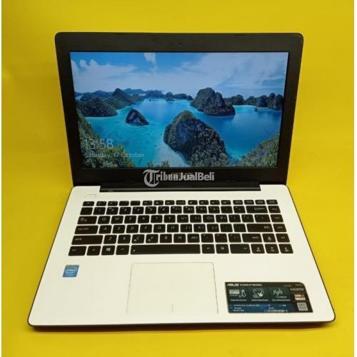 Laptop Asus X453M Bekas Harga Rp 2,3 Jutaan Ram 4GB Normal Murah - Malang