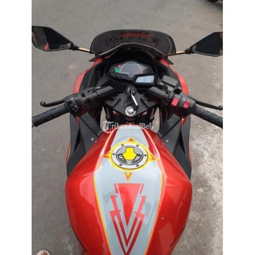 Motor Kawasaki Ninja 250 Bekas Harga Rp 31 Juta Nego Tahun 2016 Pajak Off Murah - Jakarta Barat