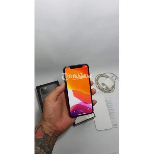 HP Bekas iPhone 11 Pro 64GB Resmi Normal Mulus Fullset Garansi Aktif - Bekasi