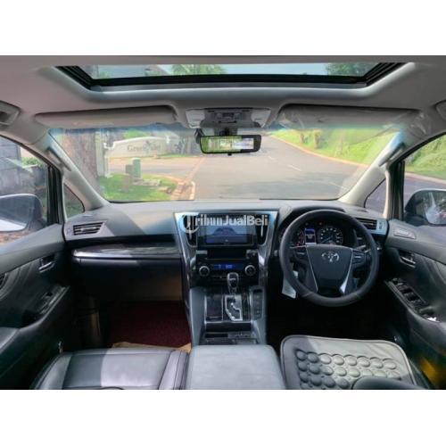 Mobil Mewah Bekas Toyota Vellfire 2.4 G Facelift AT 2018 ATPM Harga Nego - Bekasi