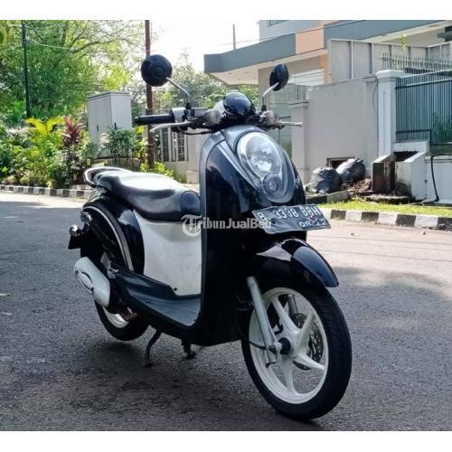 Motor Bekas Honda Scoopy 2012 Mesin Halus Surat Komplit Harga Nego - Jakarta