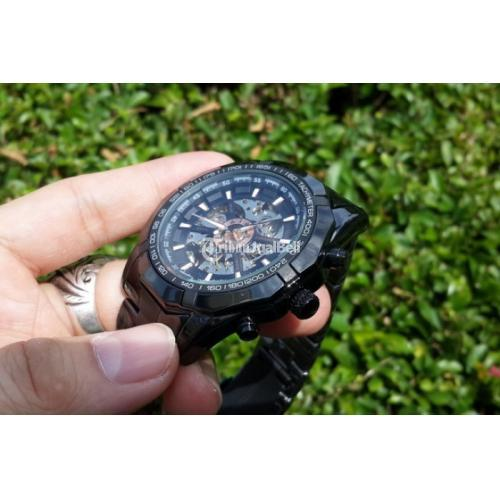 Jam Tangan Automatic Mechanical Forsining 046 New Military Men Skeleton - Jakarta Pusat