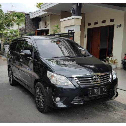 Mobil Bekas Toyota Innova V Diesel Matik 2012 Mulus Terawat Harga Murah - Malang