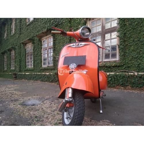 Motor Bekas Vespa 150 1964 Body Set Ori Surat Lengkap Harga Murah - Jepara