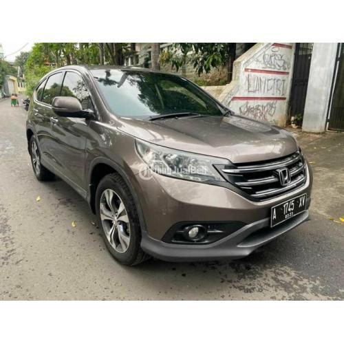 Mobil Bekas Honda CRV 2.4 2013 Matik Surat Lengkap Pajak On Harga Murah - Jakarta