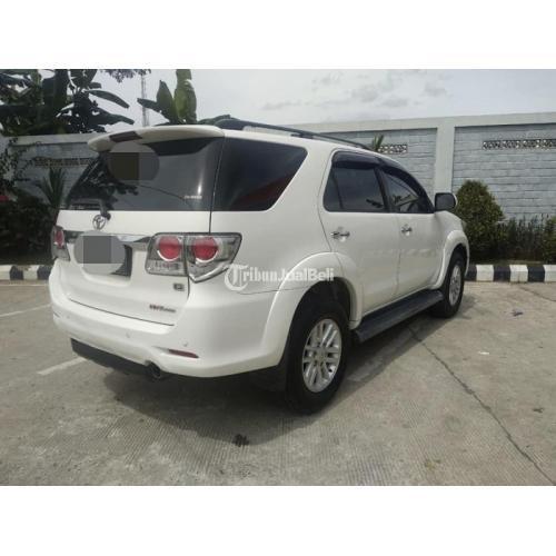 Mobil Toyota Fortuner G Bekas Harga Rp 275 Juta Nego Tahun 2013 Matic Murah - Samarinda