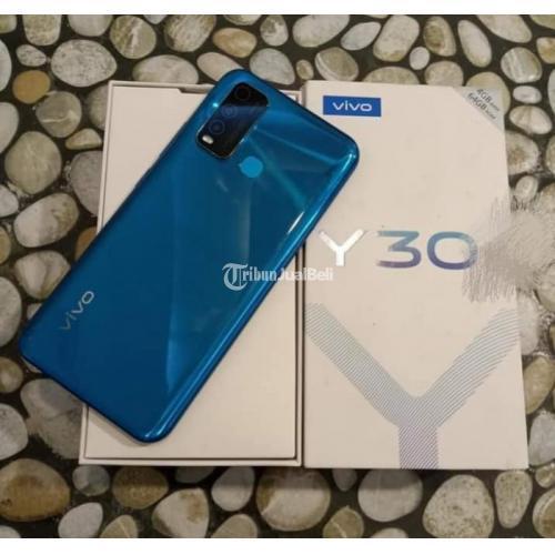 HP Bekas Vivo Y30 Fullset Pemakaian 3 Minggu Harga Murah - Jakarta