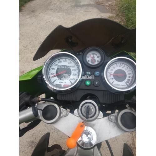 Motor Bekas Kawasaki Ninja 2T 150 2015 Nominus Plat Baru Harga Nego - Klaten