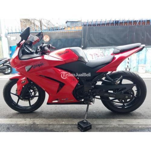 Motor Bekas Kawasaki Ninja 250 2012 Full Orisinil Pajak Panjang Harga Nego - Jakarta