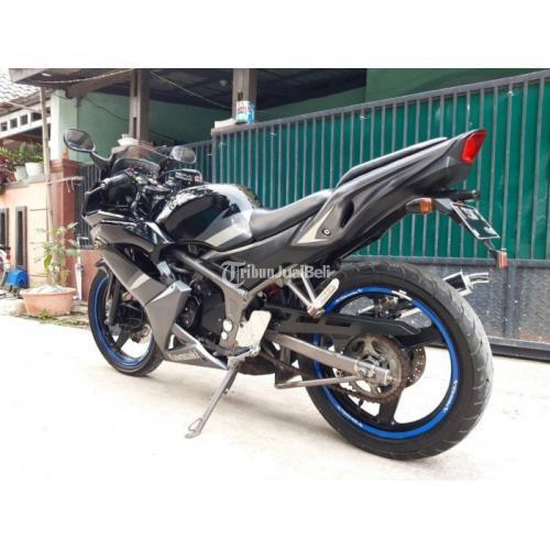 Motor Bekas Kawasaki RR 2012 Komplit Pajak Hidup Normal Harga Murah - Karawang