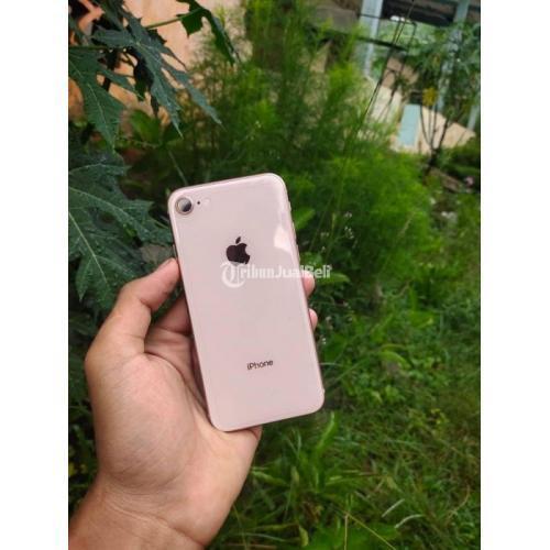 HP Bekas iPhone 8 256GB Fullset No HF Ex Inter Harga Murah - Tangerang