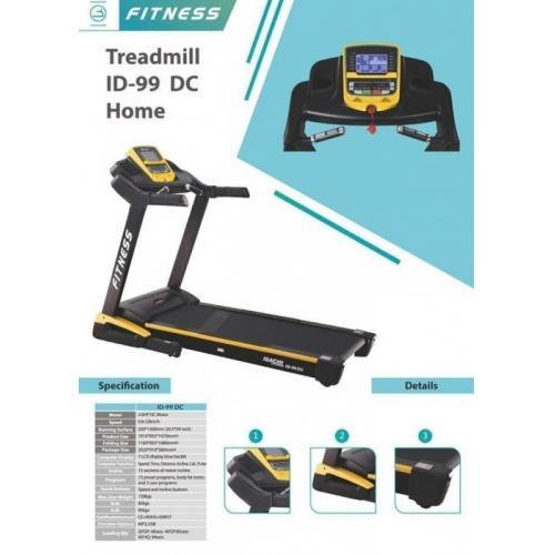 Treadmill Idachi Seri 99DC Kondisi Baru Harga Terjangkau - Sleman
