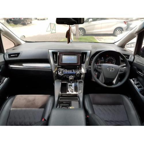 Mobil Bekas Toyota Alphard 2.5 AT 2015 Pajak Panjang Harga Nego - Tangerang