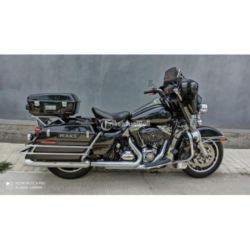 Moge Harley Davidson Electra Police Tahun 2012 Original Paint Sehat Harga Murah - Bekasi