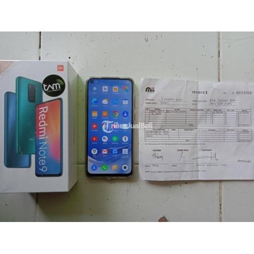 HP Redmi Note 9 Bekas Harga Rp 2,1 Juta Ram 4GB 64GB Lengkap Like New - Jogja