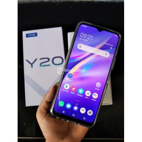 HP Vivo Y20 Bekas Harga Rp 1,87 Juta Ram 3GB 64GB Murah Lengkap - Yogyakarta