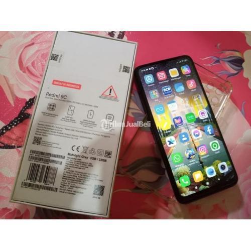 HP Bekas Xiaomi Redmi 9C 3/32GB Mulus Lengkap Harga Murah - Denpasar