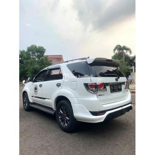 Mobil Bekas Toyota Fortuner TRD Lux 2.7 2015 Pajak Panjang Harga Nego - Jakarta
