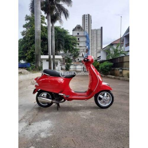 Motor Bekas Vespa LX 150 2V 2012 Full Original Mulus Harga Murah - Jakarta