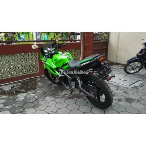 Motor Bekas Kawasaki Ninja RR 2013 Mesin Standar Lengkap Harga Murah - Surabaya