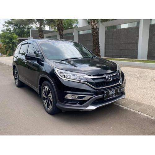 Mobil Bekas Honda CRV RM3 2.4 AT 2015 Sehat Full Orisinil Harga Nego - Jakarta