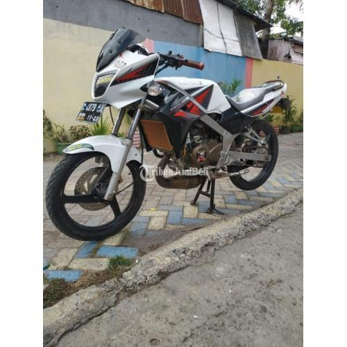 Motor Bekas Kawasaki Ninja R 2013 Lengkap Mesin Mulus Standar - Makassar