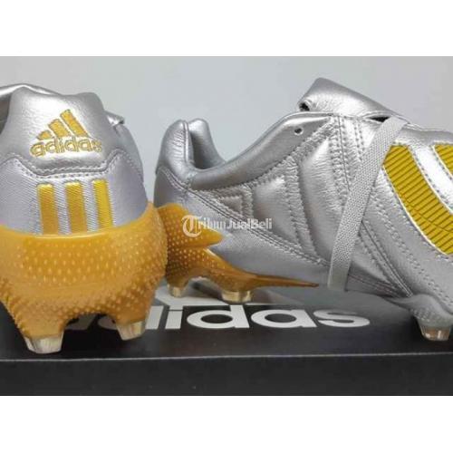 Sepatu Bola Adidas Predator 20 Mania Remake Silver Gold - Jogja