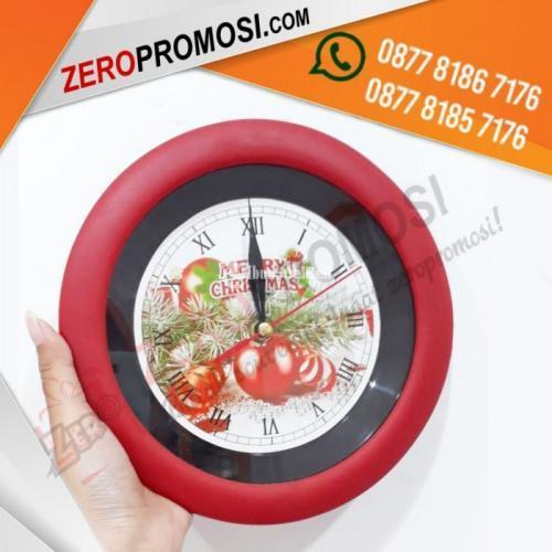 Barang Promosi Jam Dinding Perusahaan 137H Termurah - Tangerang