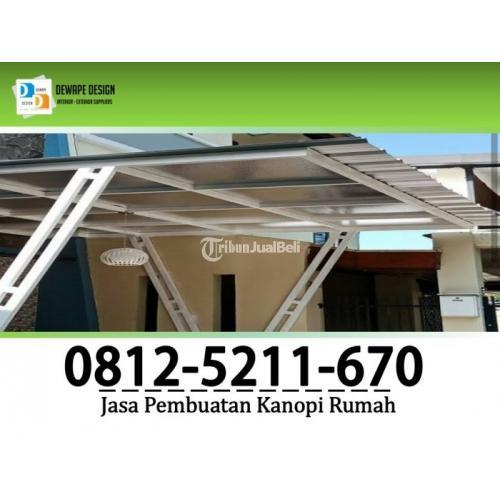 Jasa Pembuatan Kanopi Minimalis Modern Terbaru Malang - Jawa Timur