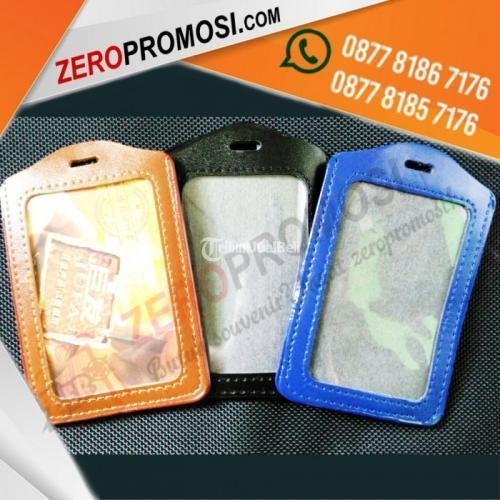 Casing Kulit ID Card dengan Harga Murah  Tempat Kartu ID Kulit - Tangerang