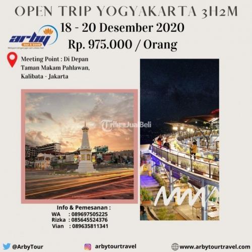 Open Trip Yogyakarta 3H2M Berangkat dari Jakarta - Jaksel