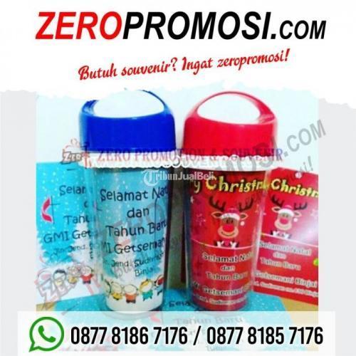 Tumbler Natal Santa Claus Souvenir Botol Minum Natal t88 - Tangerang