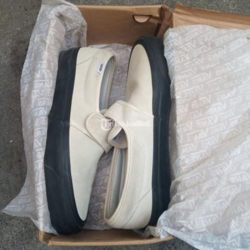 Sepatu Vans Slip On 47 V Dx Second Size 42.5 Mulus Nominus Harga Nego - Solo