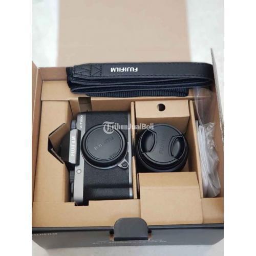 Kamera Bekas Mirrorless Fujifilm X-T200 Baru Sekali Pakai Like New Harga Nego - Jogja