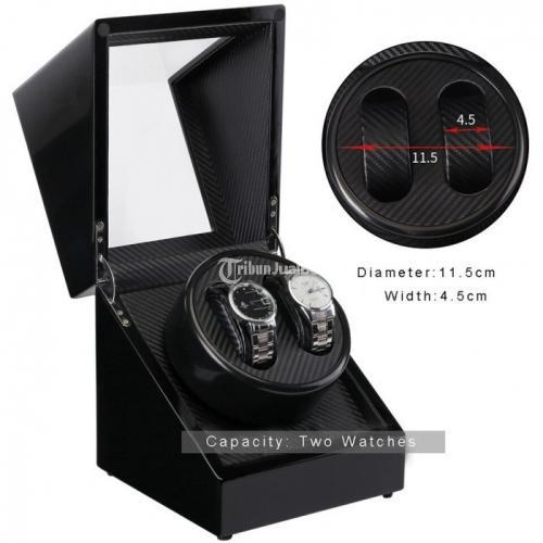Watch Winder W113D-BT Penggerak Pemutar Jam Otomatis 2 Slot Single Head - Jakarta