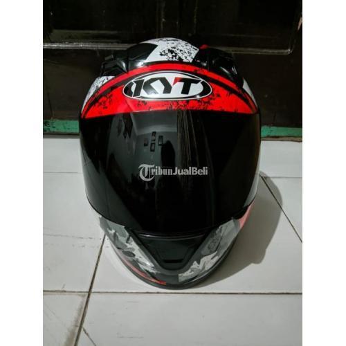 Helm Second KYT R10 Seri 3 Army Ukuran L Bisa Tebal Bagus Harga Murah - Solo