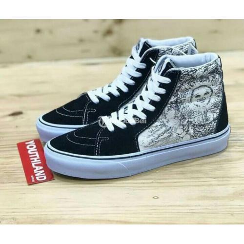 Sepatu Vans SK8 Ouroboros Black White BNIB China Harga Murah - Jogja